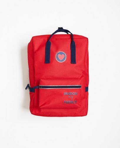 Roter Rucksack